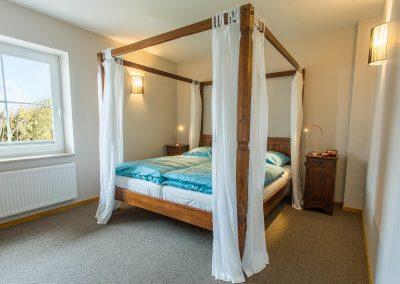 Schlafzimmer Ferienwohnung Belt Fehmarn